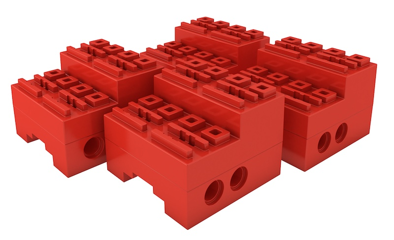 SBrick red case