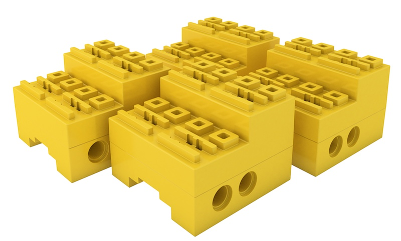 SBrick yellow case