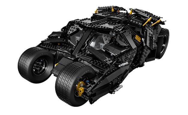 Black lego car