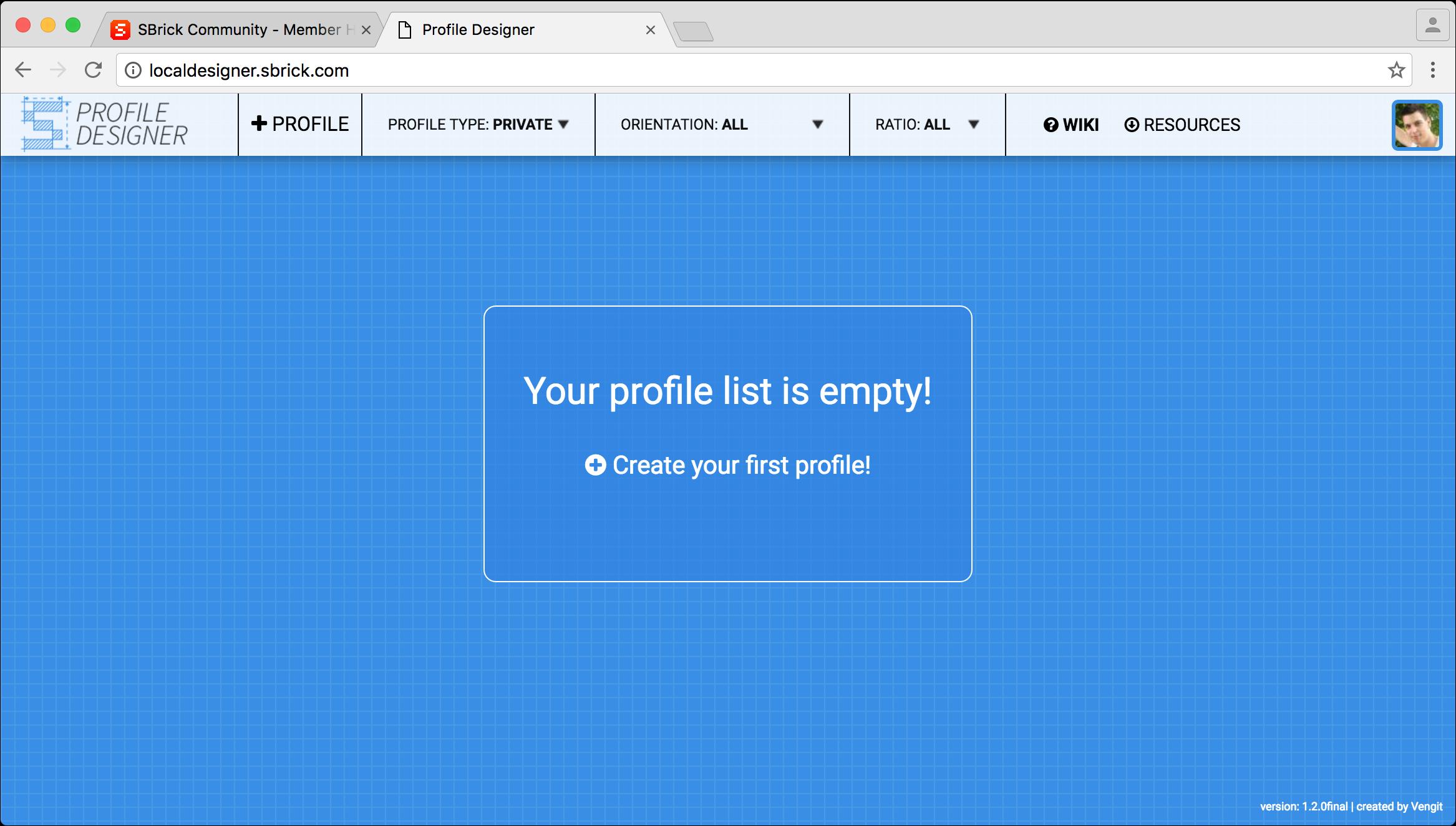 User Guide for Profile Designer - Wikis Profile - SBrick